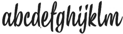 Chepina Script otf (400) Font LOWERCASE