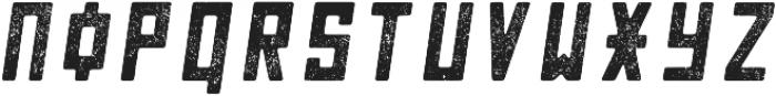 Chernobyl Oblique-Decayed otf (400) Font LOWERCASE