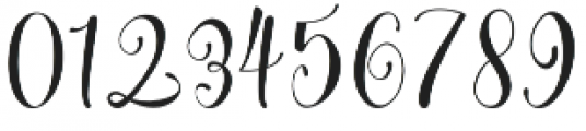 Cherry Blossom otf (400) Font OTHER CHARS