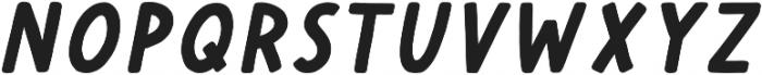 Cherry Bold Italic otf (700) Font UPPERCASE