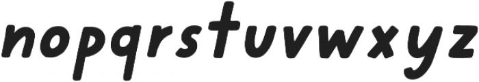 Cherry Bold Italic otf (700) Font LOWERCASE