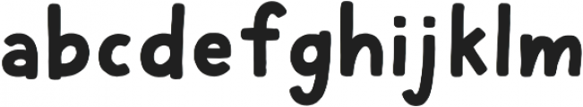 Cherry Bold otf (700) Font LOWERCASE