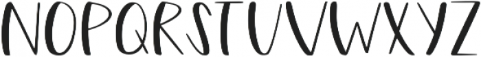 Cherry Street otf (400) Font UPPERCASE