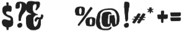 Cherrybelle otf (400) Font OTHER CHARS