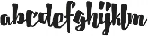 Cherrybelle otf (400) Font LOWERCASE