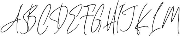Cherrydorry Regular otf (400) Font UPPERCASE