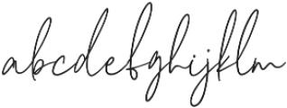 Cherrydorry Regular otf (400) Font LOWERCASE