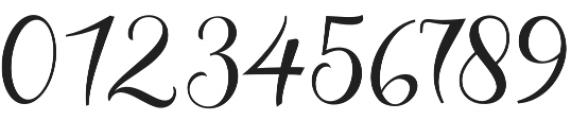 Cherryla Script Regular otf (400) Font OTHER CHARS