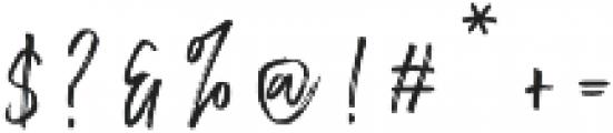 Chester Brush Regular otf (400) Font OTHER CHARS