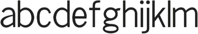 Chester Sans ttf (300) Font LOWERCASE