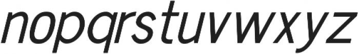 Chester Sans ttf (400) Font LOWERCASE