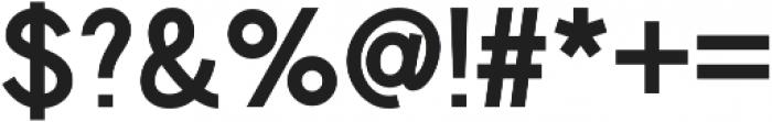 Chester Sans ttf (600) Font OTHER CHARS