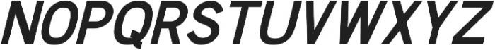 Chester Sans ttf (700) Font UPPERCASE