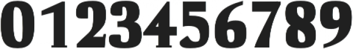 Cheston Black otf (900) Font OTHER CHARS