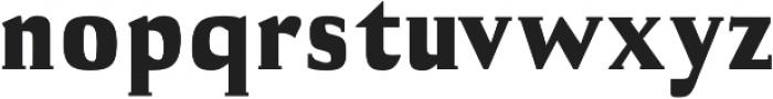 Cheston Black otf (900) Font LOWERCASE