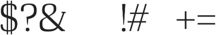 Cheston otf (400) Font OTHER CHARS