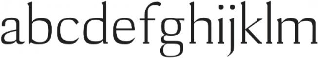Cheston otf (400) Font LOWERCASE