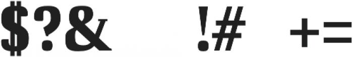 Cheston otf (700) Font OTHER CHARS