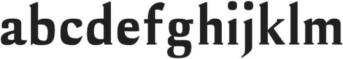Cheston otf (700) Font LOWERCASE
