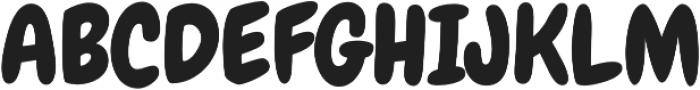 Chewy Pro Regular otf (400) Font UPPERCASE