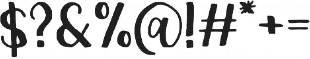 Chickadee Regular otf (400) Font OTHER CHARS
