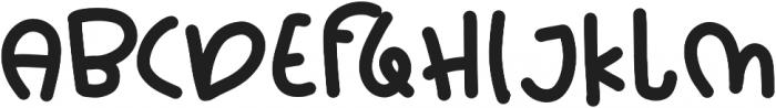 Chik Pik Bold otf (700) Font UPPERCASE