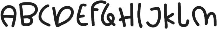 Chik Pik otf (400) Font UPPERCASE