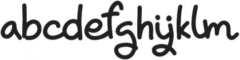 Chik Pik otf (400) Font LOWERCASE