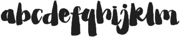 Childiest Type ttf (400) Font LOWERCASE