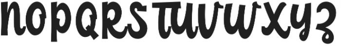 Childish Regular otf (400) Font UPPERCASE
