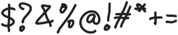 Children  Handwritten otf (400) Font OTHER CHARS