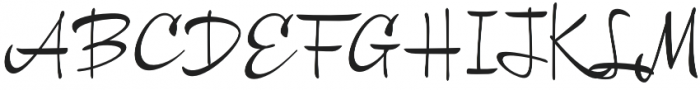 Chinal Medium otf (500) Font UPPERCASE