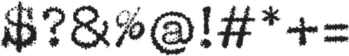 Chinaski otf (400) Font OTHER CHARS