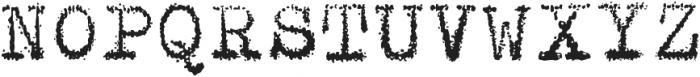 Chinaski otf (400) Font UPPERCASE