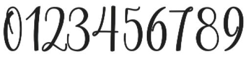Chinchilla otf (400) Font OTHER CHARS