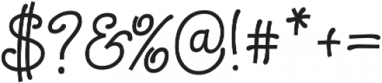 Chiply ttf (400) Font OTHER CHARS