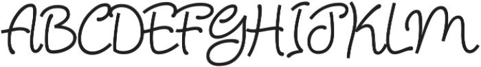 Chiply ttf (400) Font UPPERCASE
