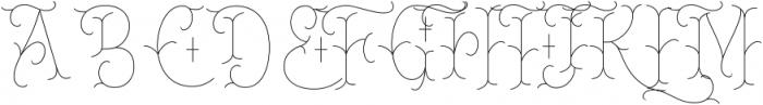 Chivels-Alt Inner ttf (400) Font UPPERCASE