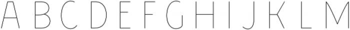 Chivels Inner otf (400) Font LOWERCASE