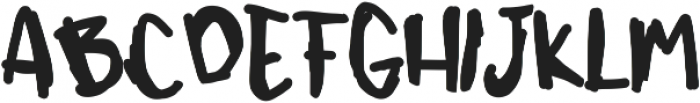 Chizuru ttf (400) Font UPPERCASE