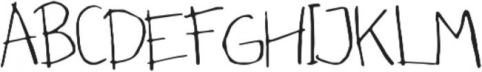 Chocofloat ttf (400) Font UPPERCASE