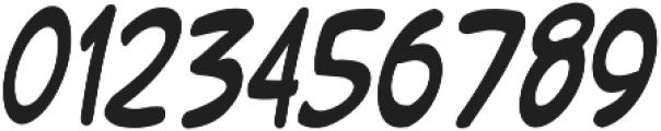 Chocolata Condensed Italic otf (400) Font OTHER CHARS