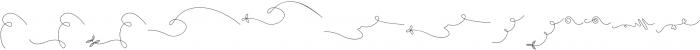 Chocolate Heart Swashes otf (400) Font UPPERCASE