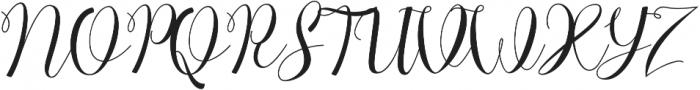 Chocolate Milky otf (400) Font UPPERCASE