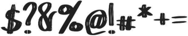 Chokle otf (400) Font OTHER CHARS