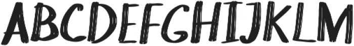 Chokle otf (400) Font UPPERCASE