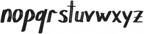 Chokle otf (400) Font LOWERCASE