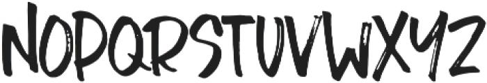 Chopshop otf (400) Font LOWERCASE