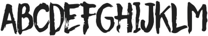 Christmas Beauty Regular otf (400) Font LOWERCASE