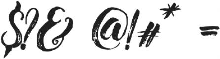 Christmas Beauty Script otf (400) Font OTHER CHARS